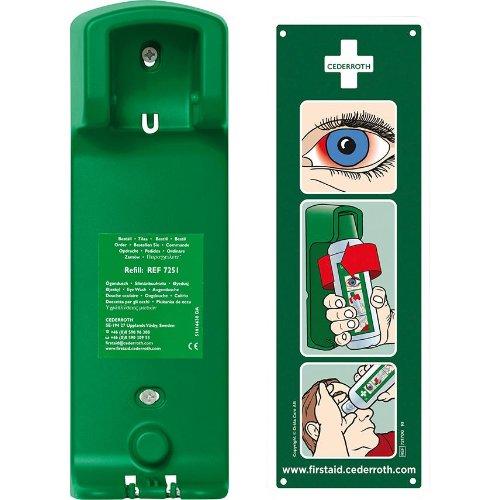 Cederroth Wandhalterung für Augenspülung
