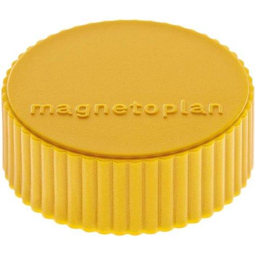 magnetoplan Magnet D34mm VE10 Haftkraft 2000 g gelb