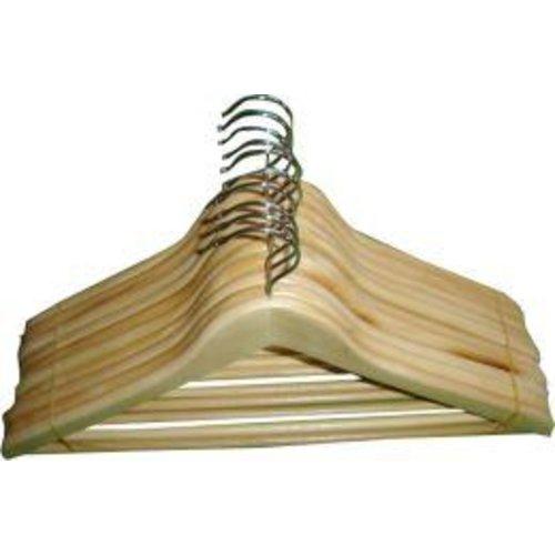 Promodoro Konfektionsbügel m. Steg,gewinkelt, Holz