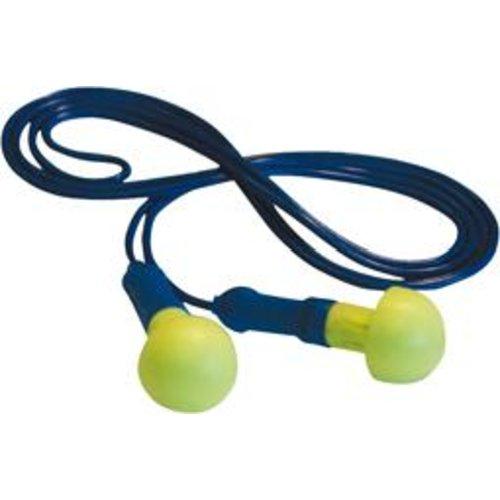 3M EAR Geh.Schutzstöpsel PushIns,m.Band(Box a100 Paar)