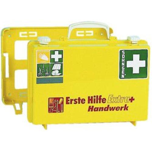Söhngen Erste-Hilfe-Koffer Extra+Handwerk, DIN 13157, gelb