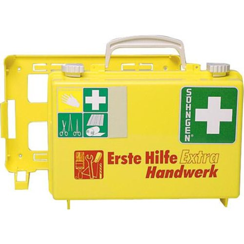 Söhngen Erste-Hilfe-Koffer Extra Handwerk,DIN 13157,gelb