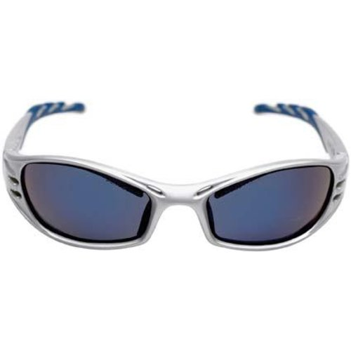 3M Brille Fuel, blau verspiegelt