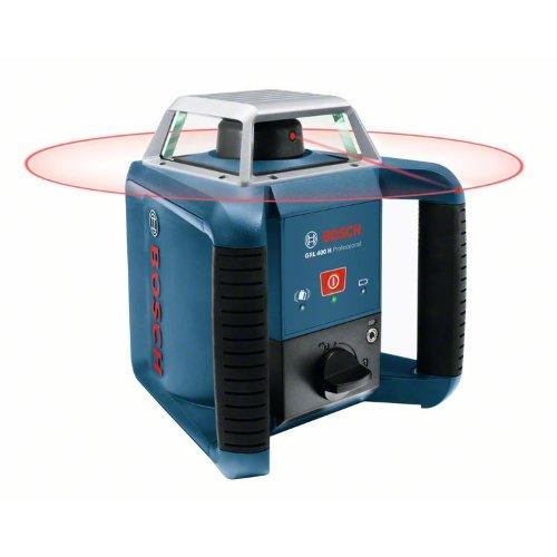 Rotationslaser GRL 400 H, mit Laserempfänger LR 1 und Transportkoffer