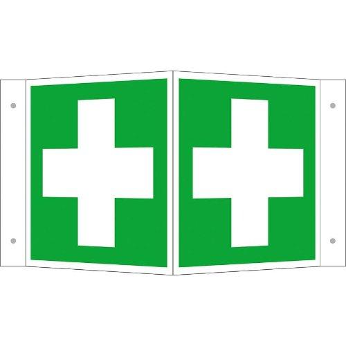 Rettungsschild Alu Erste Hilfe Wi. 200x200