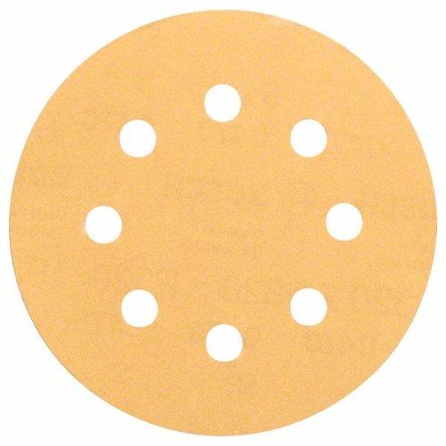 Schleifblatt C470, 115 mm, 60, 120, 240, 8 Löcher, Klett, 6er-Pack