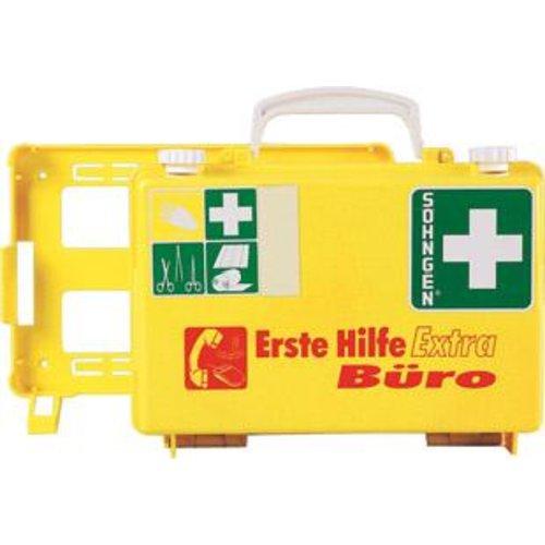 Söhngen Erste-Hilfe-Koffer Extra Büro, DIN 13157, gelb