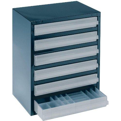raaco Schubladenmagazin Typ 6-3 blau