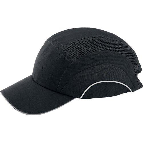 Format Anstoßkappe, 7 cm Schirm,schwarz