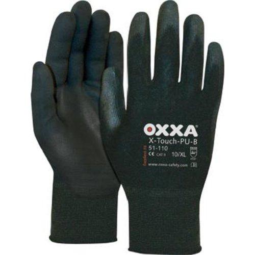 OXXA Montagehandschuh X-Touch PU-B(Pck.a 3 Paar),Gr.8