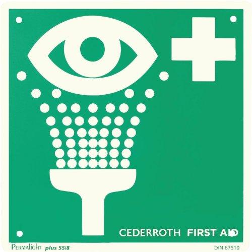 Cederroth Sicherheitsschild Augendusche