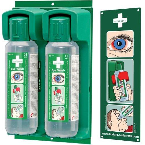Cederroth Wandhalter für 2x500 ml Augenspülflasche