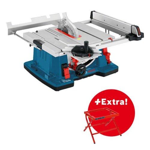 Tischkreissäge GTS 10 XC und Arbeitstisch GTA 6000 in Karton