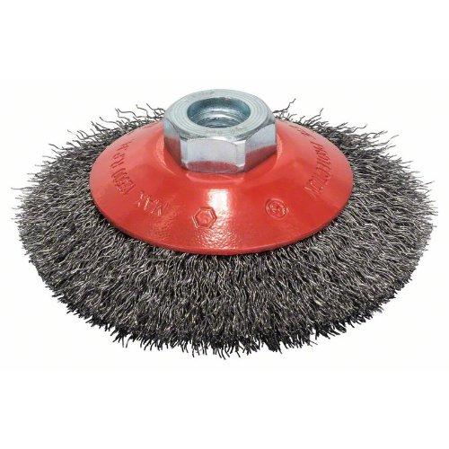 Kegelbürste Clean for Metal, gewellter Draht, 0,3 mm, 100 mm, 12500 U/min, M 14