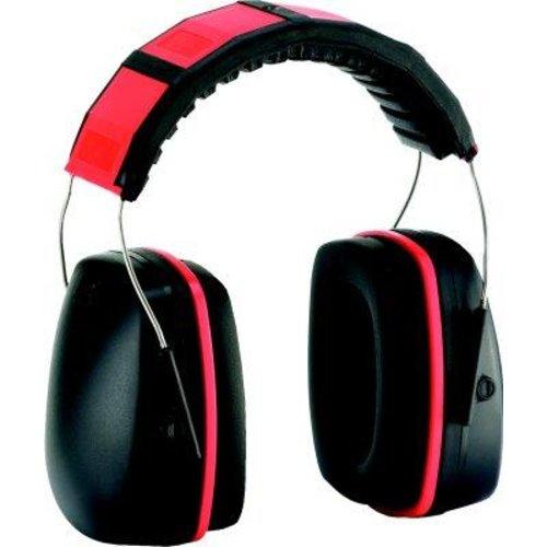Fortis Kapselgehörschützer, 28 dB, rot,