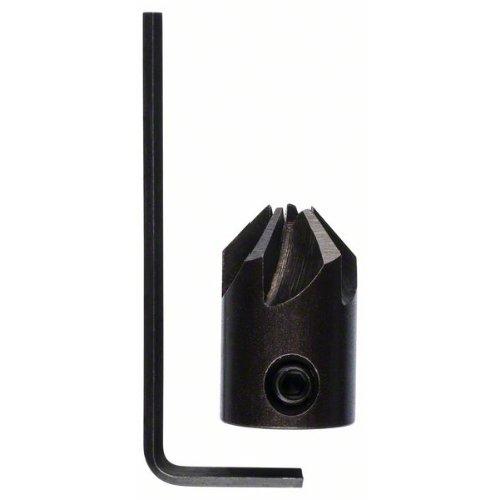 Aufstecksenker für Holzspiralbohrer, 5 x 16 mm, M 5