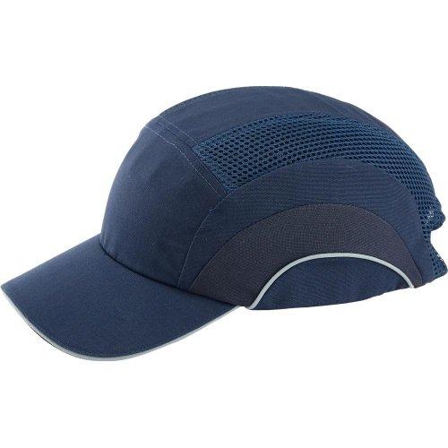 Format Anstoßkappe, 7 cm Schirm,marineblau