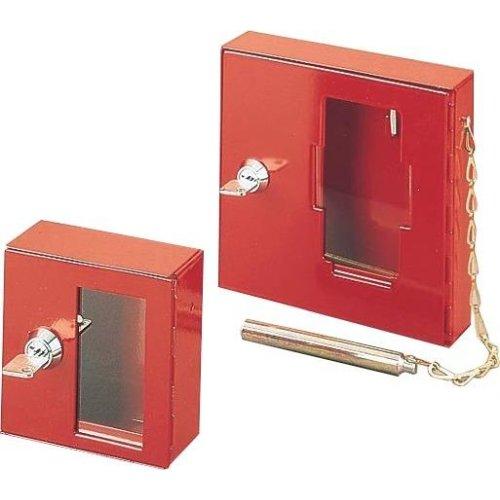 Notschlüsselkasten mit Klöppel 150x150x40mm
