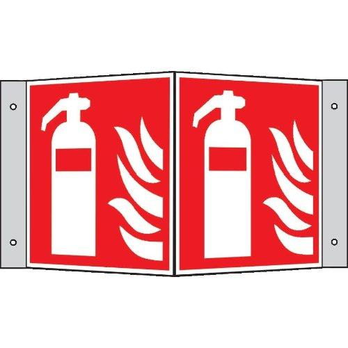 Brandschutzschild Alu Feuerlöscher Wi.150x150
