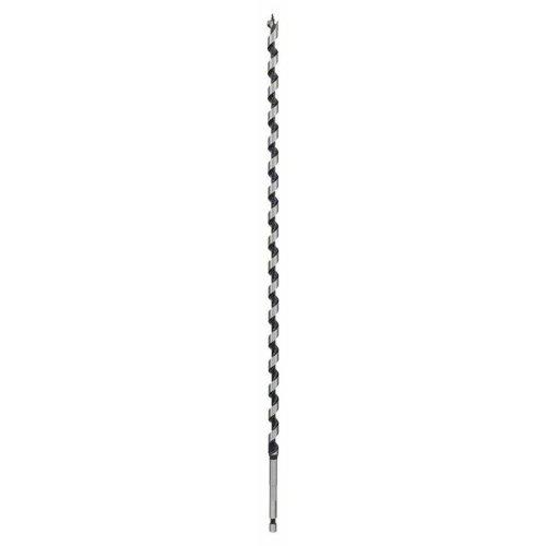 Holzschlangenbohrer, Sechskant 10 x 385 x 450 mm, d 6,35 mm