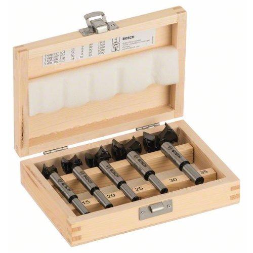 Kunstbohrer-Set HM, 5-teilig, 15 - 35 mm