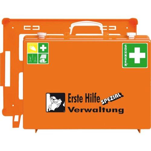 Söhngen ErsteHilfe-Koffer Spezial MT-CD Verwaltung, orange