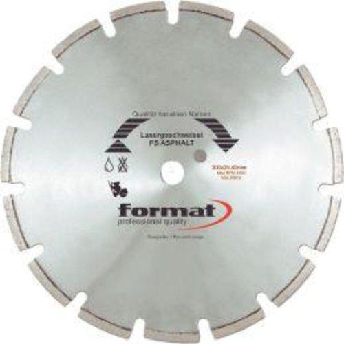 Format Diamantsägeblatt FS Asphalt 350x25,4mm