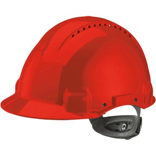 3M Peltor Schutzhelm G3000N,ABS, Ratschensystem, rot