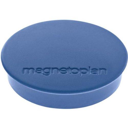magnetoplan Magnet D30mm, VE 10 StückHaftkraft 700g, dblau