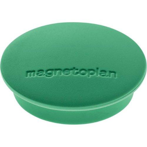 magnetoplan Magnet D34mm VE10 Haftkraft 1300 g grün