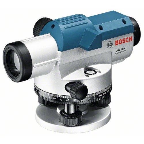 Optisches Nivelliergerät GOL 26 D, mit Baustativ BT 160, Messstab GR 500