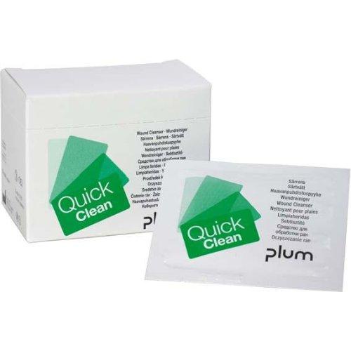 Plum Wundreiniger QuickClean Box mit 20 Stück