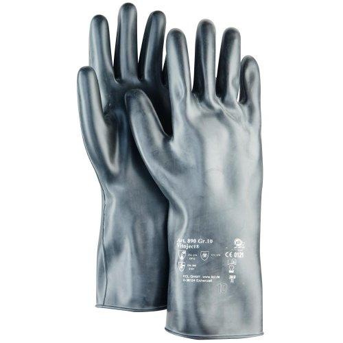 Honeywell KCL Handschuh Vitoject 890, 350 mm, Gr.8,schwarz