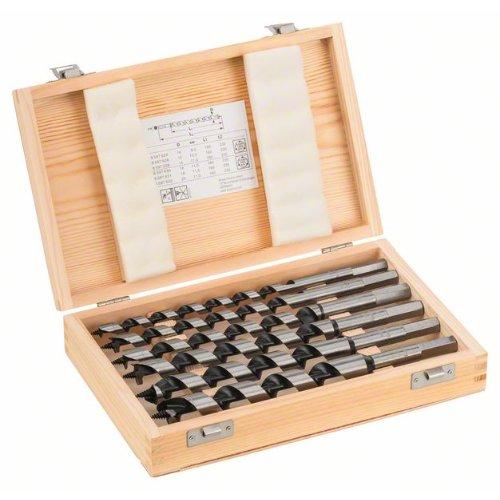 Schlangenbohrer-Set, 6-teilig, 10 - 20 mm, 160 mm, 235 mm