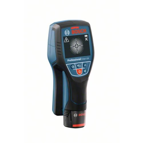 Ortungsgerät Wallscanner D-tect 120, mit Alkalinebatterien und Akku-Adapter