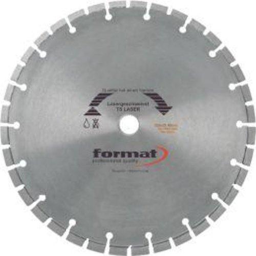 Format Diamantsägeblatt TS Laser 350x25,4 mm