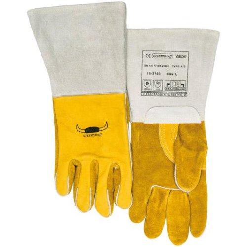 Schweißerhandschuh gelb Gr. L 1Paar