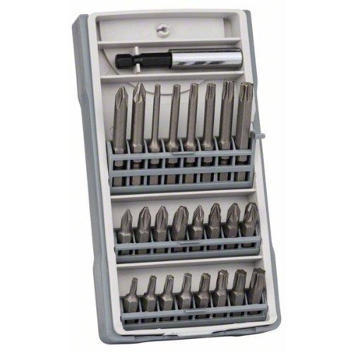 Schrauberbit-Set, 25-teilig, 25 mm, 49 mm, mit magnetischem Universalhalter
