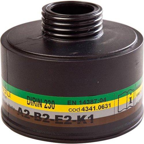 Sekur Mehrbereichsfilter Dirin 230, ABE2, K1