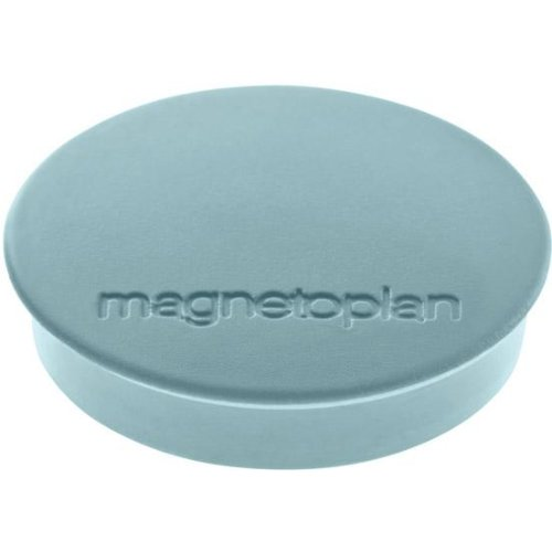 magnetoplan Magnet D30mm VE10 Haftkraft 700 g blau