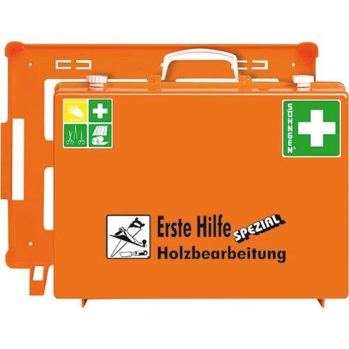Söhngen ErsteHilfe-Koffer MT-CD Holzbearbeitung, orange