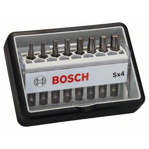 Schrauberbit-Set Robust Line Sx Extra-Hart, 8-teilig, 49 mm, Torx