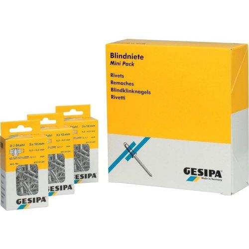 Gesipa Blindniet-Mini-Pack Alu 3x 8mm a 100St.