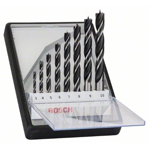 Holzspiralbohrer-Set Robust Line, 8-teilig, 3 - 10 mm