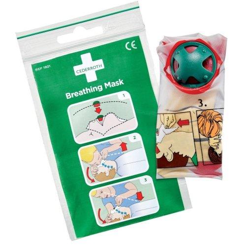 Cederroth Beatmungsmaske mit Rückschlagventil