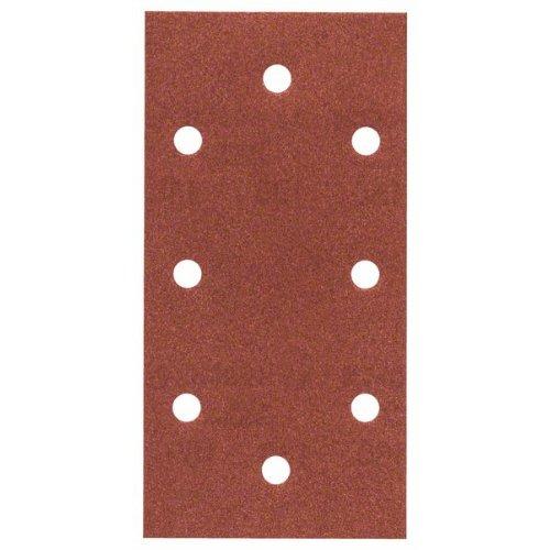 Schleifblatt C430, 93 x 186 mm, 2x40, 3x80, 3x120, 2x180, 8 Löcher, 10er-Pack