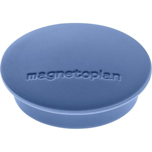 magnetoplan Magnet D34mm, VE 10 StückHaftkraft 1300g, dblau