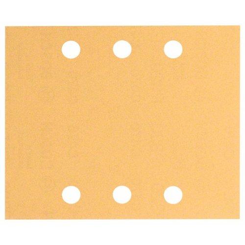Schleifblatt C470, 115 x 140 mm, 40, 60, 80, 120, 180, 6 Löcher, 10er-Pack