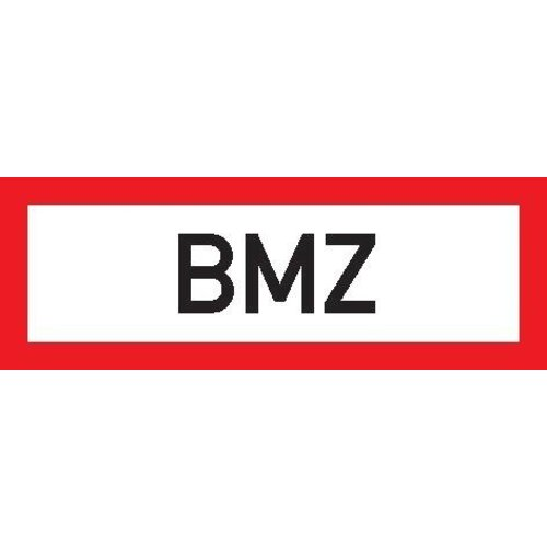 Brandsch-Schild Fol BMZ 297x105mm