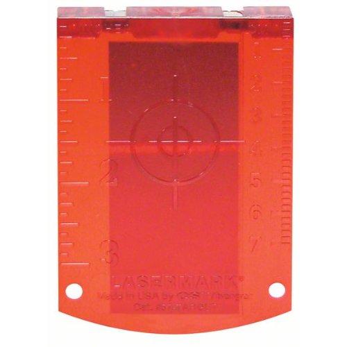 Laserzieltafel rot